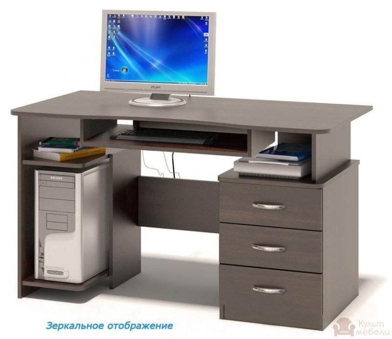 Купить компьютерный стол ника микс - 43 kult mebeli.