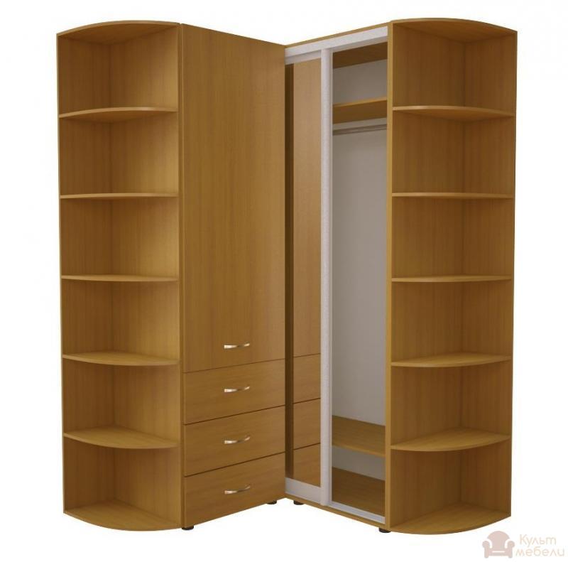 Купить угловой шкаф - купе ника эконом 34 kult mebeli.