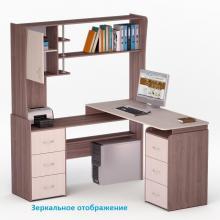 Стол компьютерный роберт 12 со стеллажом купить, цена 8 390..